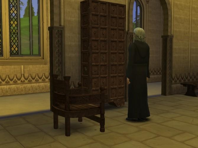 Sims 4 Skyrim Monastic library at Mara45123