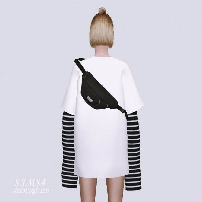 Sims 4 Female Sling Bag at Marigold