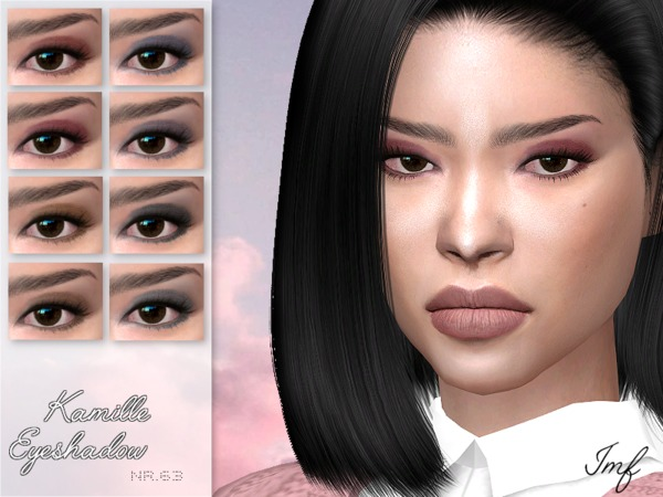 Sims 4 IMF Kamille Eyeshadow N.63 by IzzieMcFire at TSR