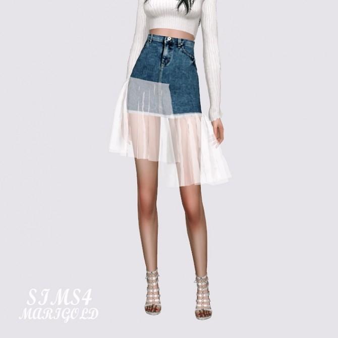 Mesh Denim Skirt at Marigold image 11312 670x670 Sims 4 Updates