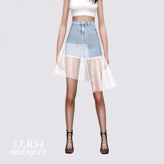 Mesh Denim Skirt at Marigold image 11512 670x670 Sims 4 Updates