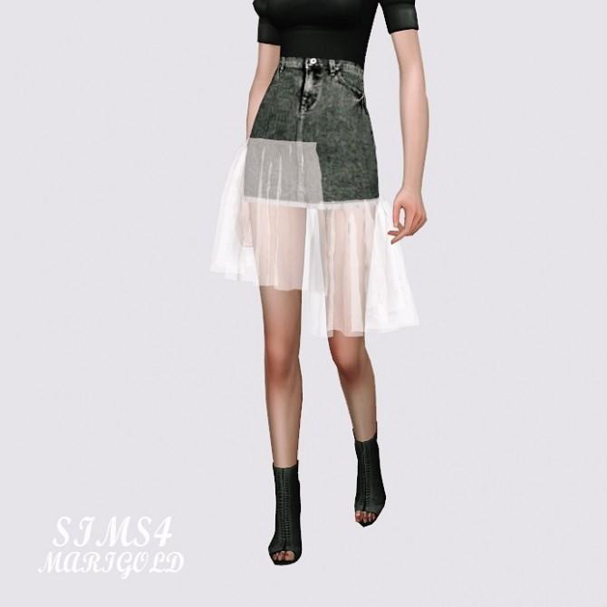 Mesh Denim Skirt at Marigold image 11611 670x670 Sims 4 Updates