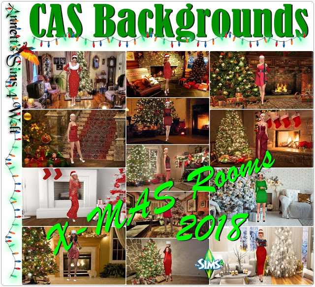CAS Backgrounds X MAS Rooms 2018 at Annett's Sims 4 Welt image 1163 Sims 4 Updates