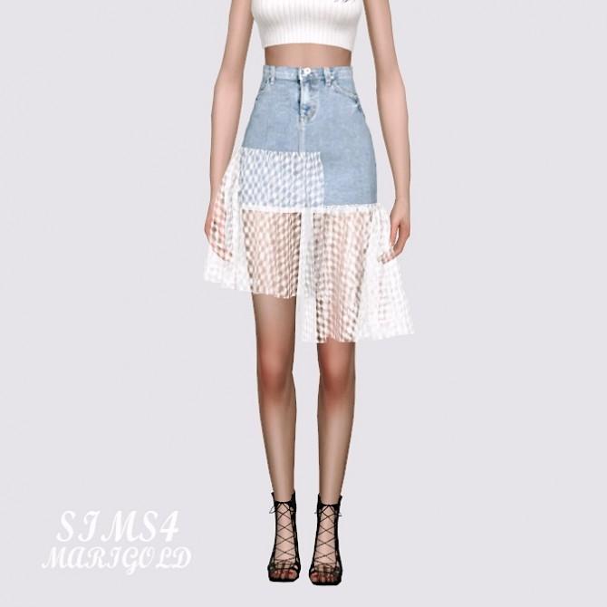 Mesh Denim Skirt at Marigold image 11710 670x670 Sims 4 Updates