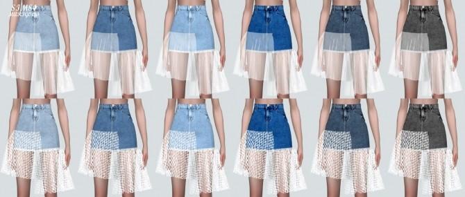 Mesh Denim Skirt at Marigold image 11810 670x285 Sims 4 Updates
