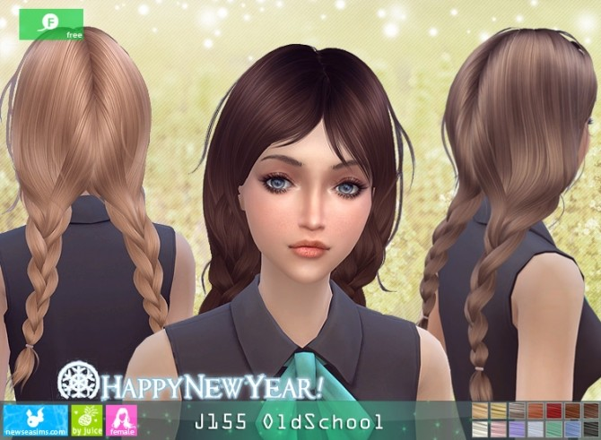 J155 OldSchool hair at Newsea Sims 4 image 11813 670x491 Sims 4 Updates