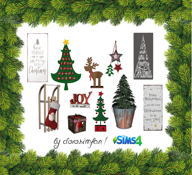 Christmas Gifts by dorosimfan1 at Sims Marktplatz image 1191 Sims 4 Updates