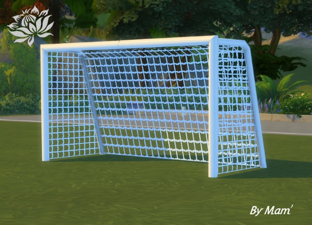 Sims 4 Goal + soccer ball by Maman Gateau at Sims Artists