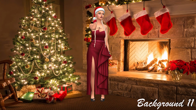 CAS Backgrounds X MAS Rooms 2018 at Annett's Sims 4 Welt image 1192 Sims 4 Updates
