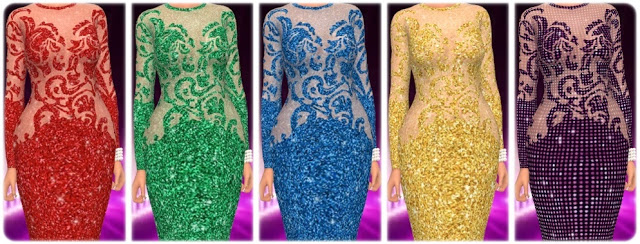 Get Famous Dress Nr. 4 Recolors at Annett's Sims 4 Welt image 1215 Sims 4 Updates