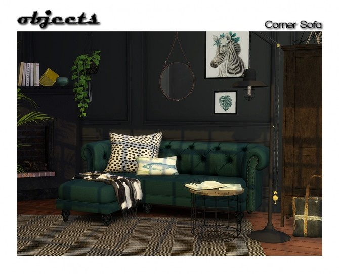 Retexture of BCP corner sofa at ShojoAngel image 1222 670x542 Sims 4 Updates