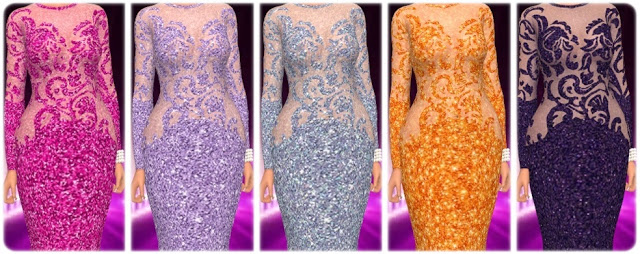 Get Famous Dress Nr. 4 Recolors at Annett's Sims 4 Welt image 1223 Sims 4 Updates
