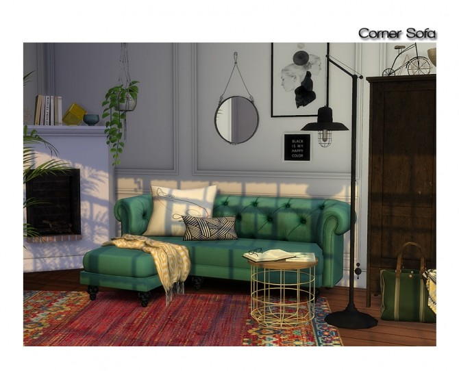Retexture of BCP corner sofa at ShojoAngel image 1232 670x542 Sims 4 Updates