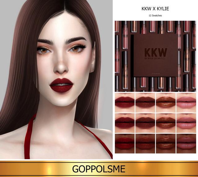 GPME GOLD Round 2 lip set at GOPPOLS Me image 1251 Sims 4 Updates