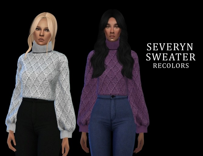 Sims 4 Severyn Sweater at Leo Sims