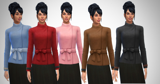 Wool Bow Jacket at Birksches Sims Blog image 12713 Sims 4 Updates