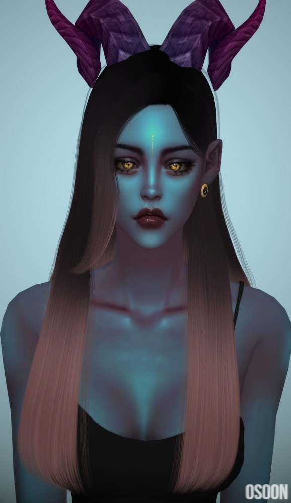 Female Hair 05 at Osoon image 1277 579x1000 Sims 4 Updates