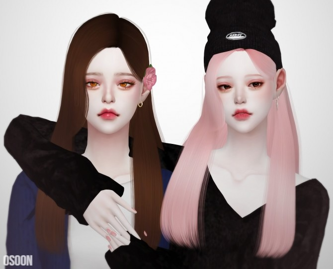 Female Hair 05 at Osoon image 1288 670x542 Sims 4 Updates