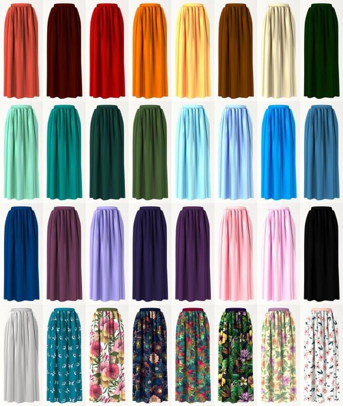 Midi skirt at LazyEyelids image 12913 670x793 Sims 4 Updates