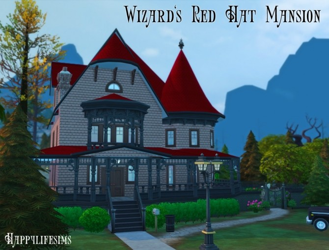 Forgotten Hollow House Set at Happy Life Sims image 13013 670x508 Sims 4 Updates