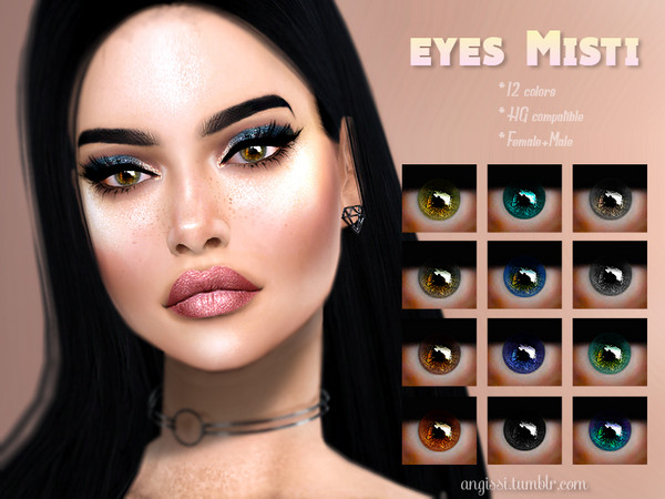Sims 4 Misti eyes by ANGISSI at TSR