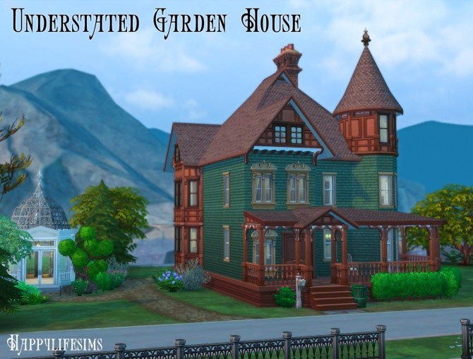 Forgotten Hollow House Set at Happy Life Sims image 13118 670x508 Sims 4 Updates