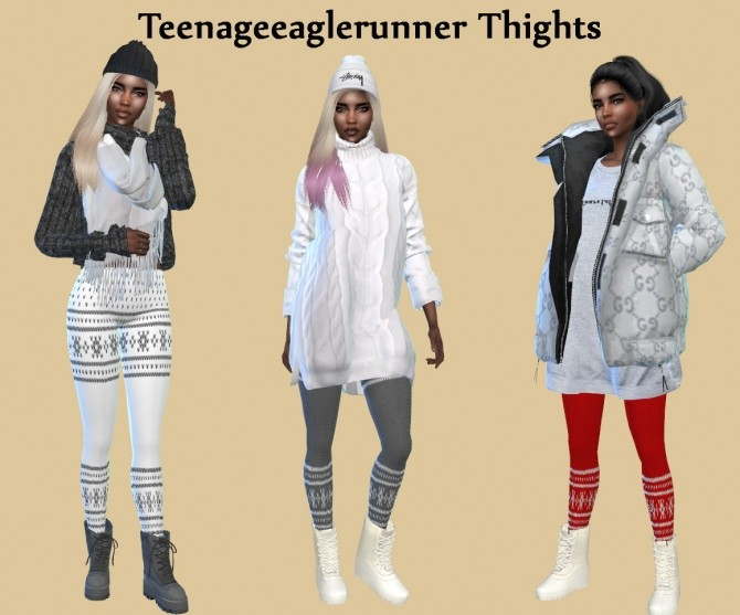 ACC Tights at Teenageeaglerunner image 13512 670x557 Sims 4 Updates