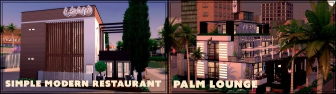 Sims 4 Every lot in Del Sol Valley rebuilted at GravySims