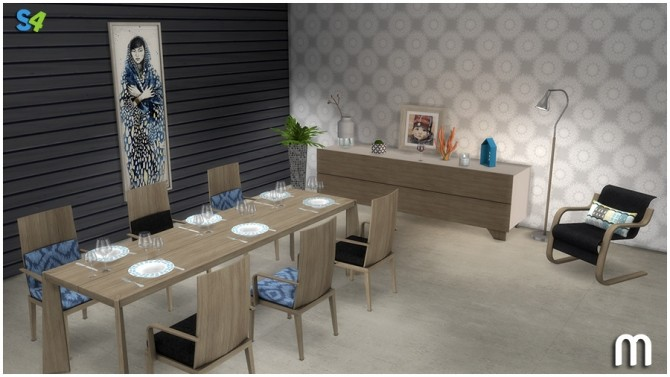 Urpo diningroom at Mango Sims image 1361 670x377 Sims 4 Updates