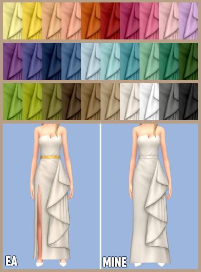 EP06 Holly Dress at Tukete image 1365 Sims 4 Updates