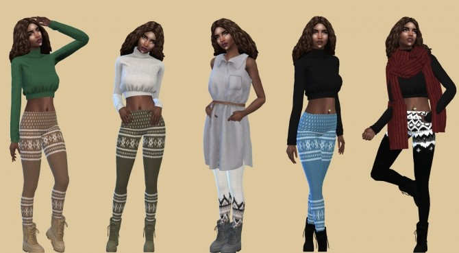 ACC Tights at Teenageeaglerunner image 13712 670x369 Sims 4 Updates