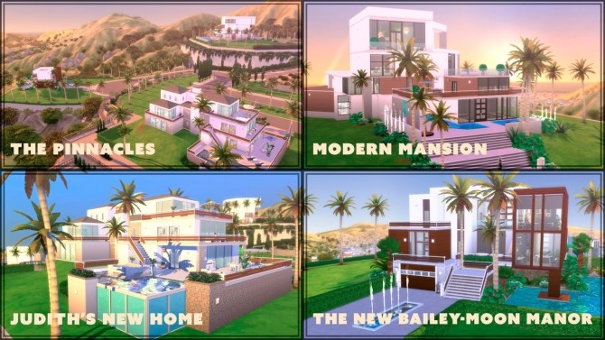 Every lot in Del Sol Valley rebuilted at GravySims image 1373 670x377 Sims 4 Updates