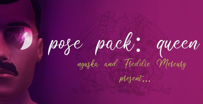 Pose pack Queen at Nyuska image 1391 670x345 Sims 4 Updates