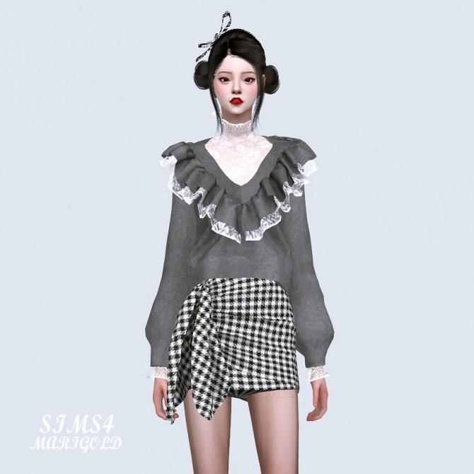 Sha Frill Sweater at Marigold image 13910 670x670 Sims 4 Updates