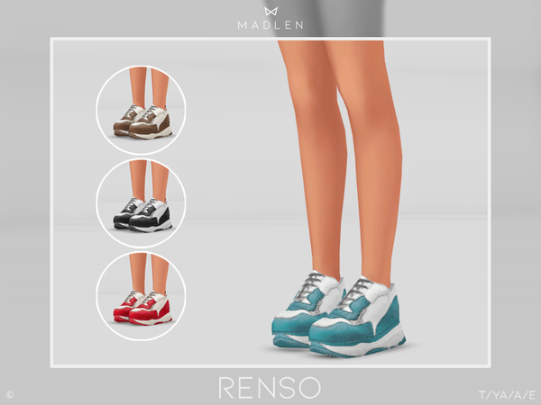Sims 4 Madlen Renso Shoes by MJ95 at TSR