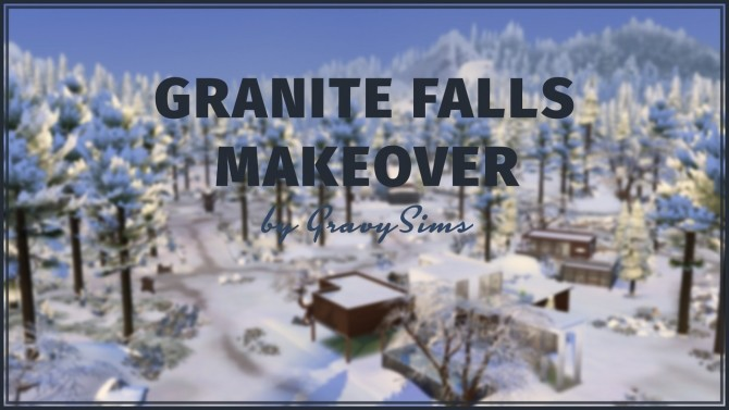 Sims 4 Granite Falls Makeover at GravySims