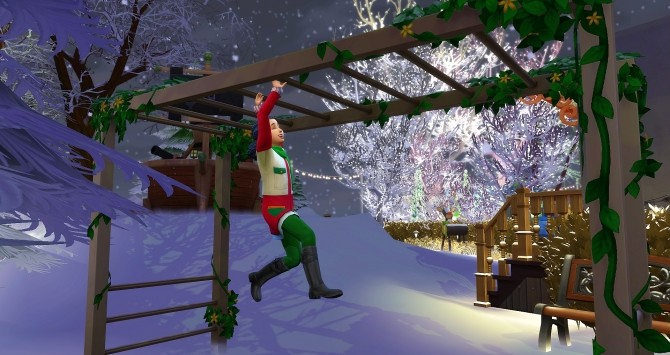 Sims 4 Windenburg Christmas Market by Angerouge at Studio Sims Creation