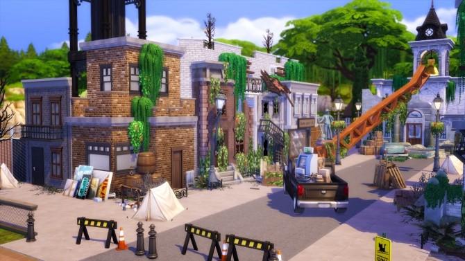 Apocalyptic Town at Akai Sims – kaibellvert image 1472 670x377 Sims 4 Updates