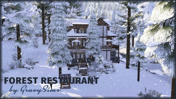 Forest Restaurant at GravySims image 1473 670x377 Sims 4 Updates