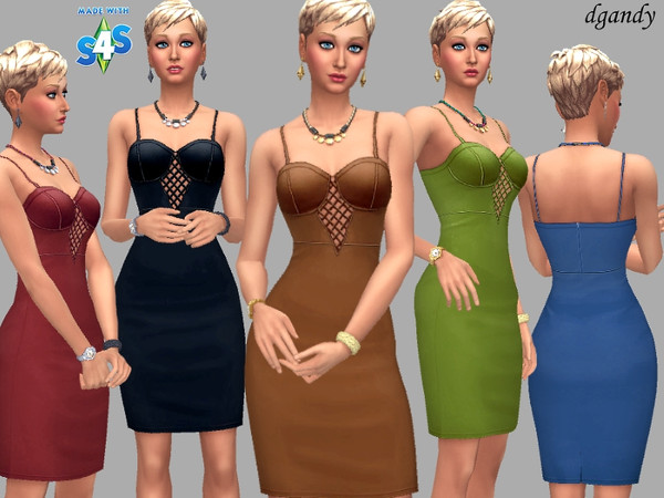 Beth dress by dgandy at TSR image 1490 Sims 4 Updates