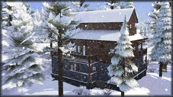 Sims 4 Forest Restaurant at GravySims