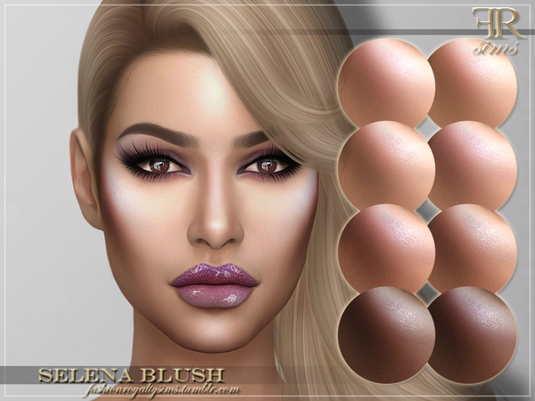 FRS Selena Blush by FashionRoyaltySims at TSR image 1511 Sims 4 Updates