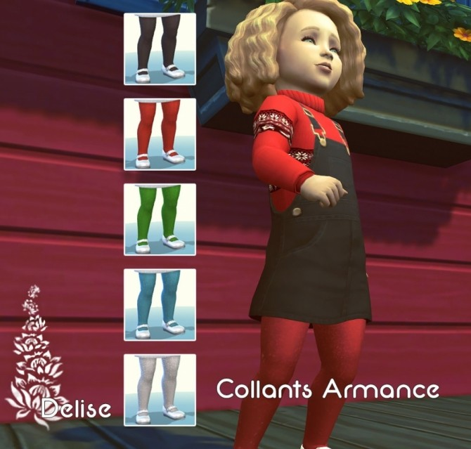 Christmas outfits by Delise at Sims Artists image 15112 670x639 Sims 4 Updates