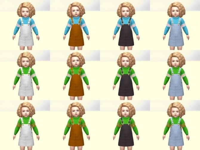 Christmas outfits by Delise at Sims Artists image 15211 670x503 Sims 4 Updates