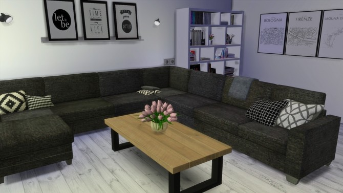 Sims 4 Livingroom at MODELSIMS4