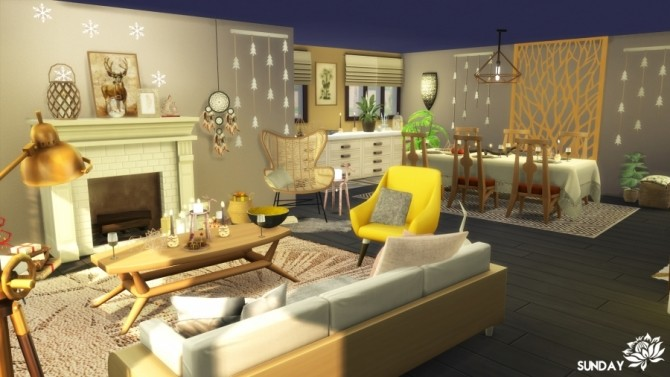 Sims 4 Wild stay house by SundaySims at Sims Artists