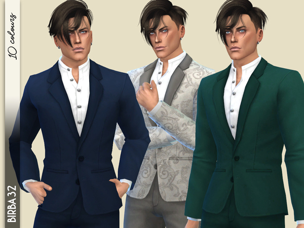 Sims 4 Vibrations suit by Birba32 at TSR