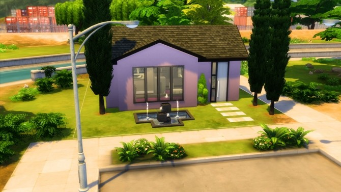 Get famous basic house NO CC by iSandor at Mod The Sims image 159 670x377 Sims 4 Updates