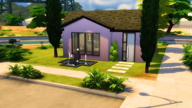 Get famous basic house NO CC by iSandor at Mod The Sims image 160 670x377 Sims 4 Updates