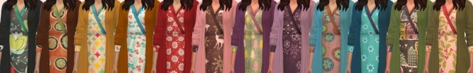 Sims 4 Sweater Dress Recolor at Miss Ruby Bird